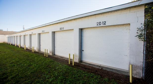 Secure Ground Level Storage