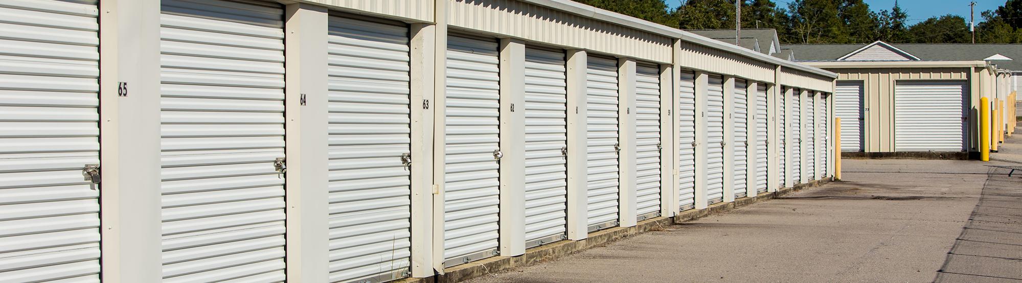 Drive Up Access Self Storage on Stewart St