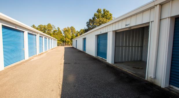 Standard Ground Level Storage Units