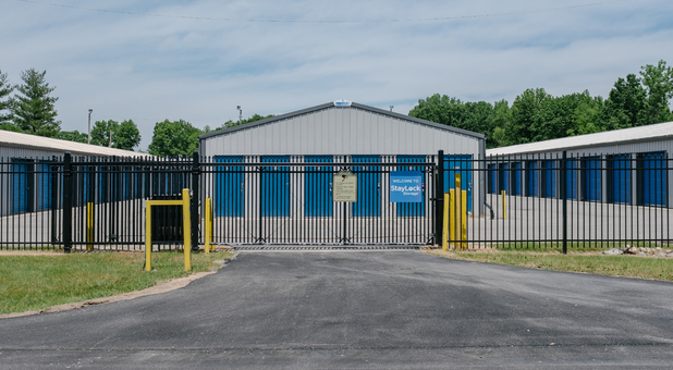 Fenced and Gated Storage Facility