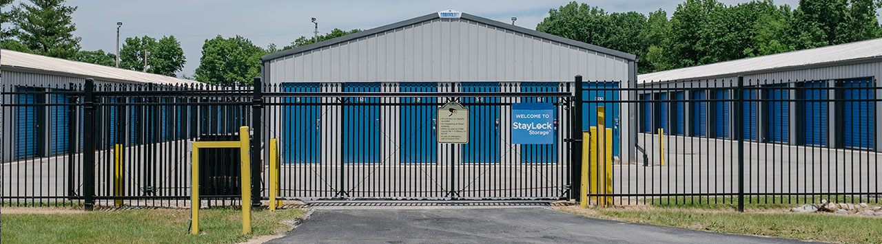 Fenced and Gated Self Storage in Bristol