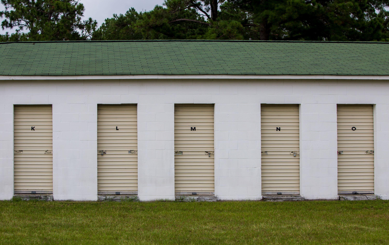 Self Storage Facility Exterior