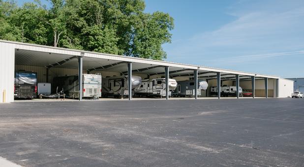 Covered Vehicle Storage
