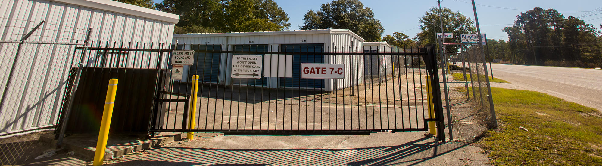 Fenced and Gated Secure Storage