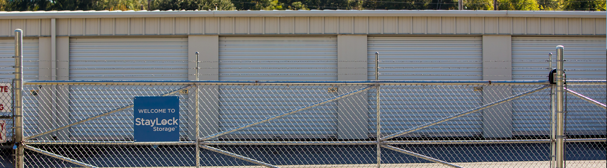 Securely Fenced and Gated Self Storage