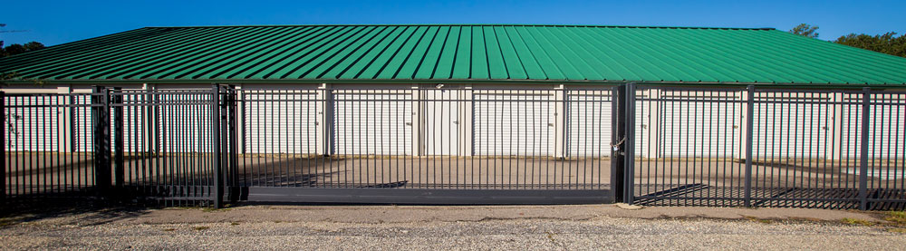 Fenced and Gated Protection Self Storage