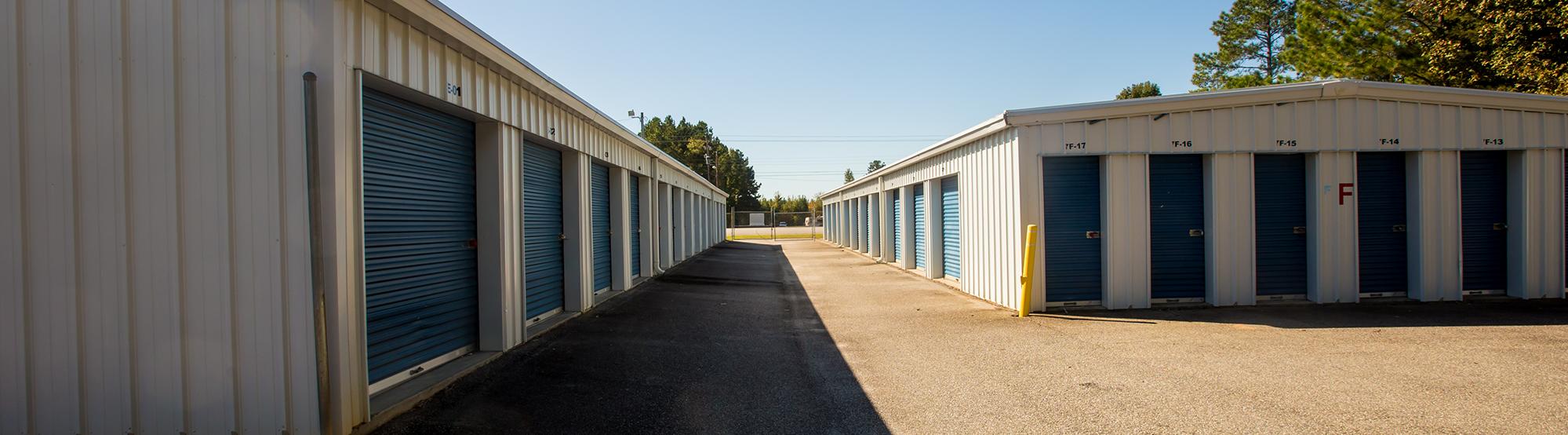 Drive Up Access Self Storage in Hartsville SC