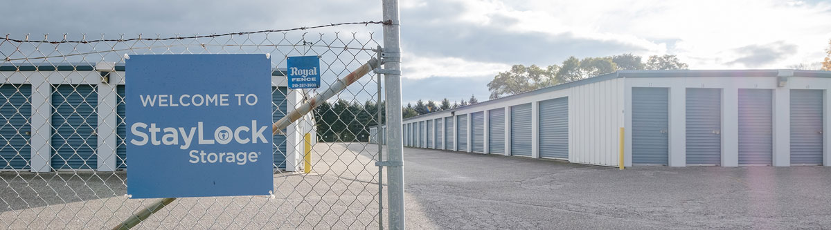Fenced and Gated Self Storage StayLock