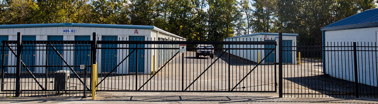Fenced and Gated Self Storage Units in Rock Hill SC