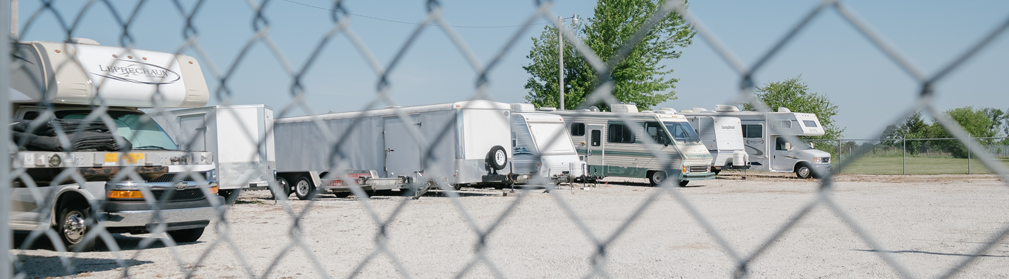 RV Fenced and Gated Self Storage