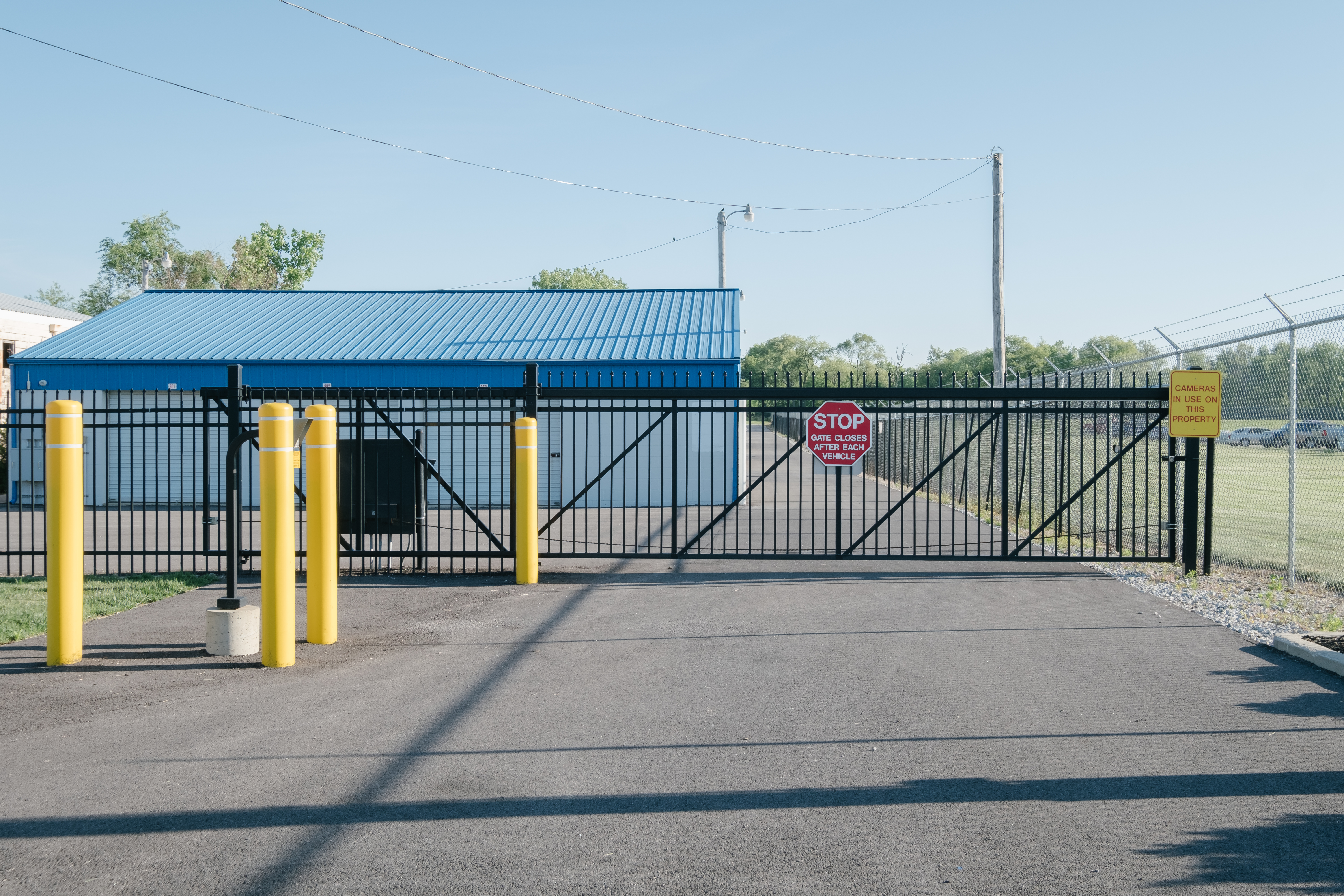 Fenced and Gated Stay Lock Self storage