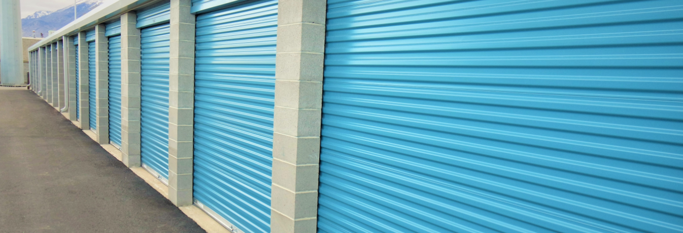 Row storage units at Timp Storage