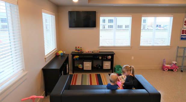 Child-friendly Waiting Area at Timp Storage