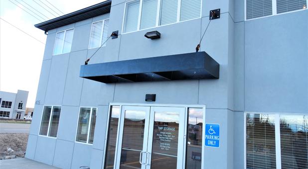 Front of Timp Storage entrance
