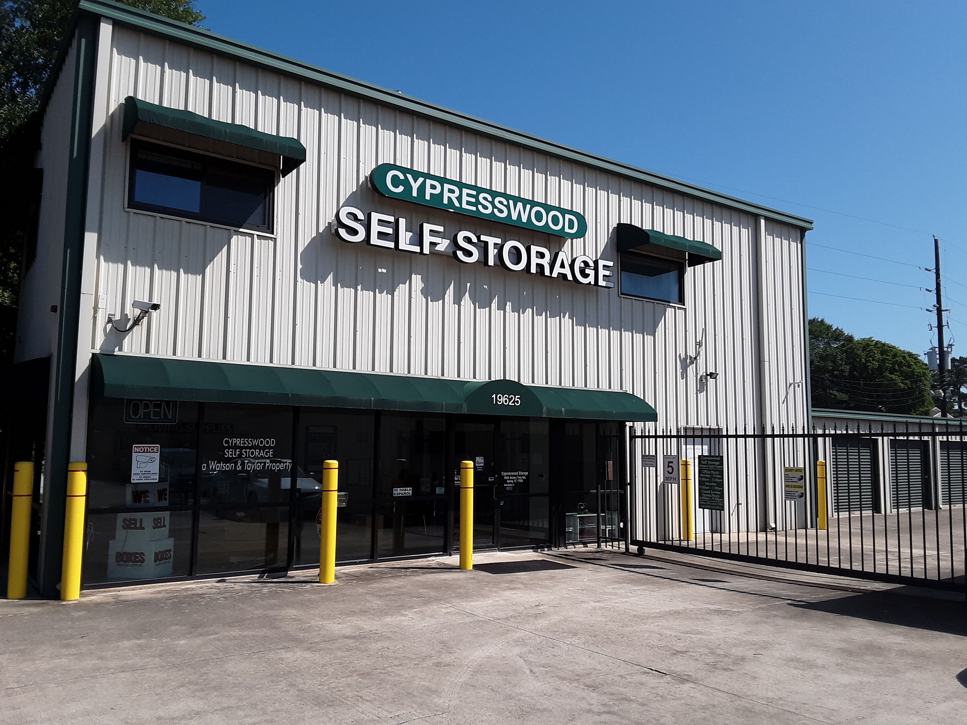 Cypresswood Self Storage - a Watson & Taylor Property