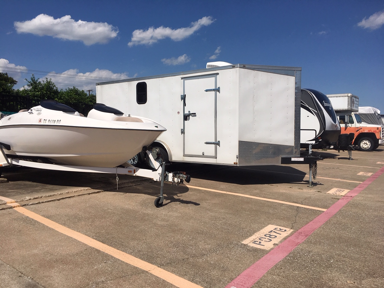 Boat and RV parking Addison