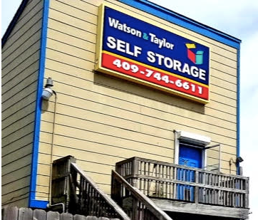Watson and Taylor Self Storage Sign