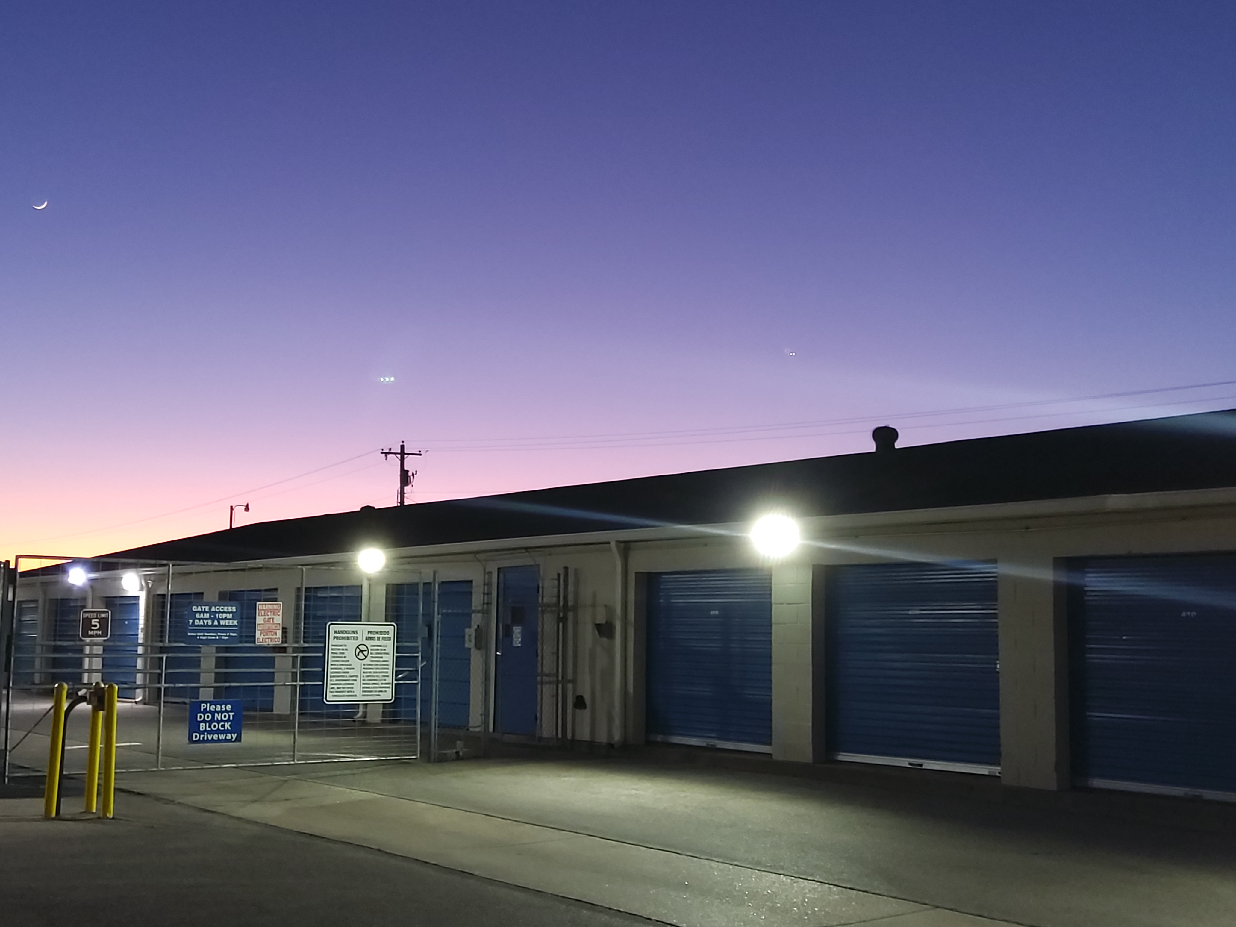 Storage Sunset