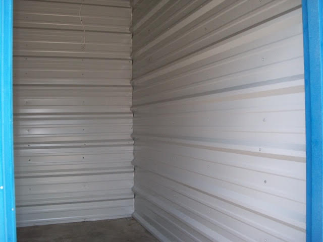 Inside a Self Storage Unit