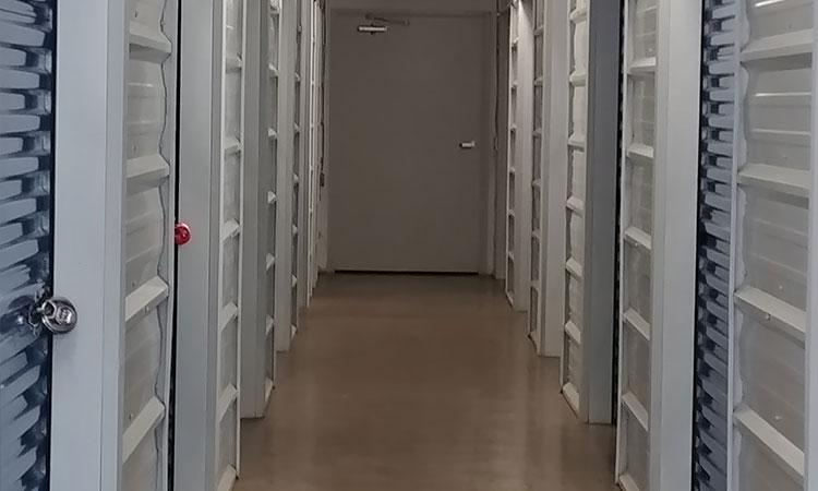 Temperature controlled self storage