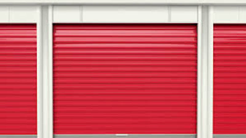 Self Storage units doors