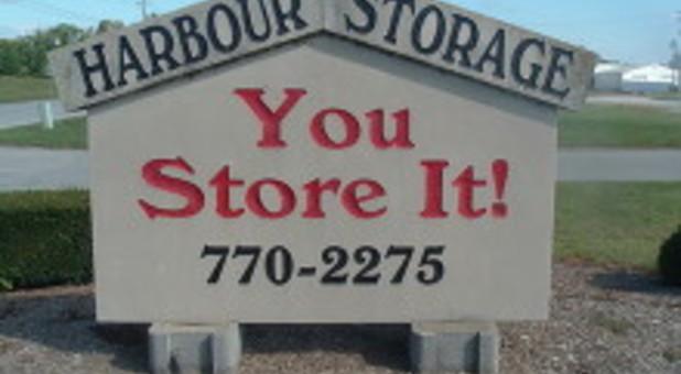 Harbour Storage signage