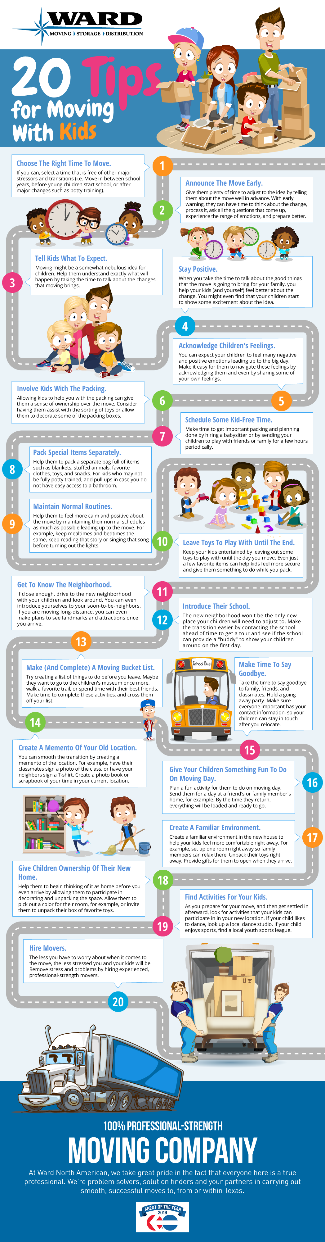 20 Tips for Moving With Children