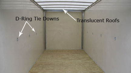 Inside Our Mobile Storage Units