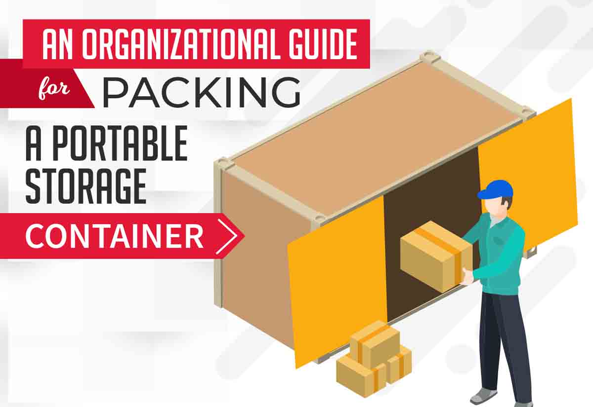 Organizational Guide for Packing a Portable Storage Container