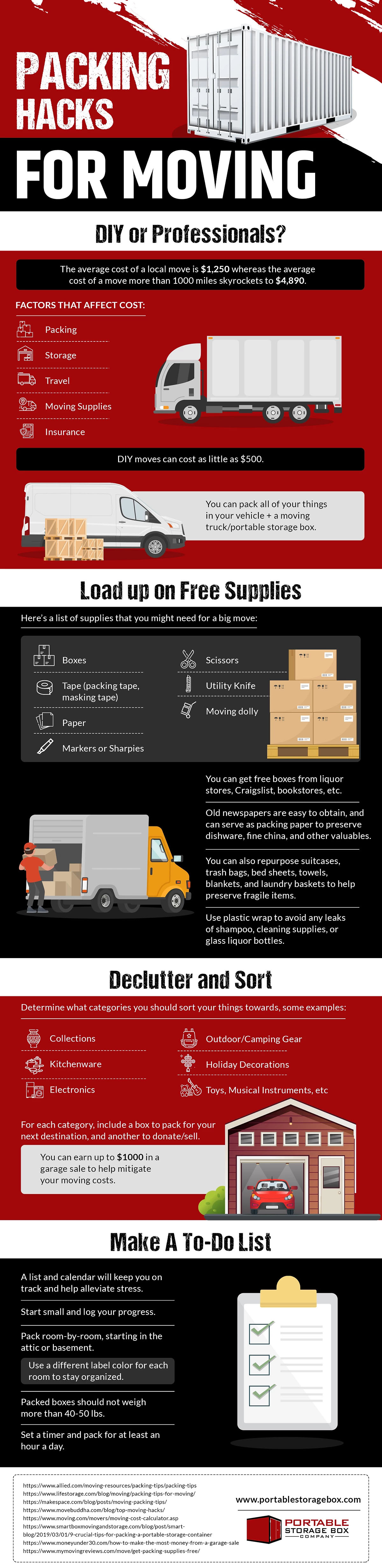 Packing Hacks for Moving