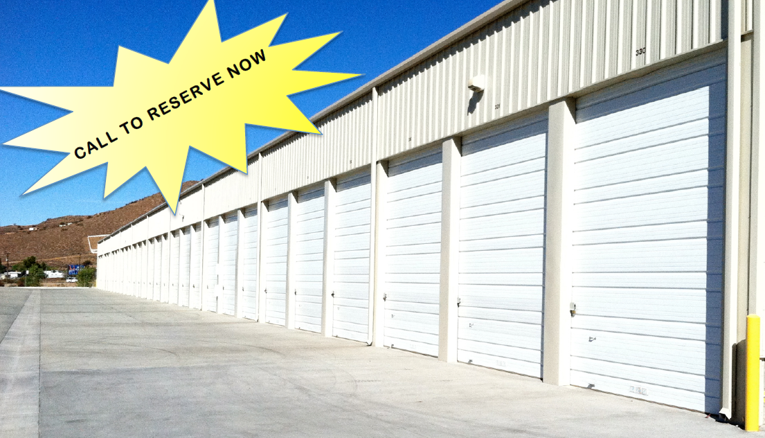 Storage unit with graphic