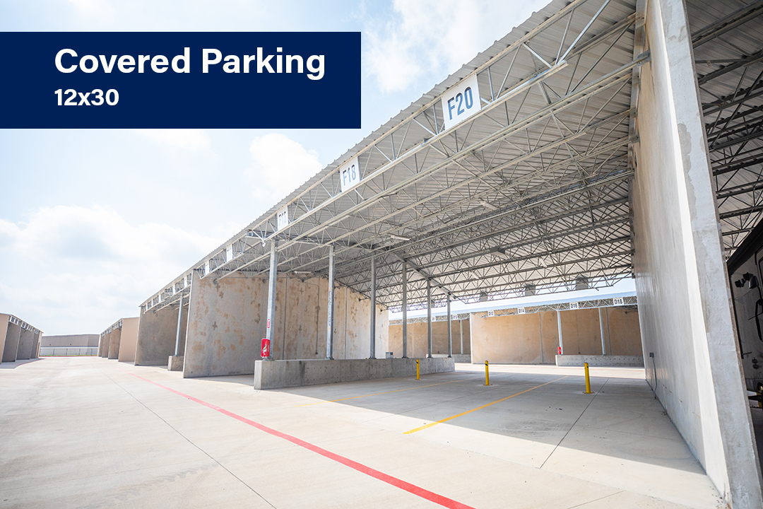 Covered Parking 12x30