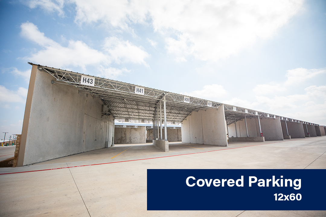 Covered Parking 12x60