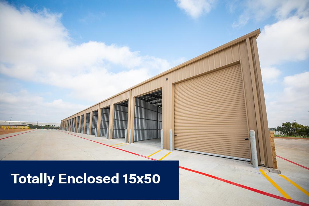 Enclosed 15x50