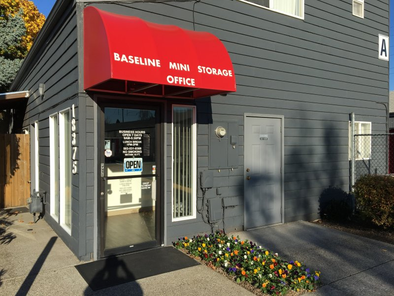 Baseline Mini Storage Office