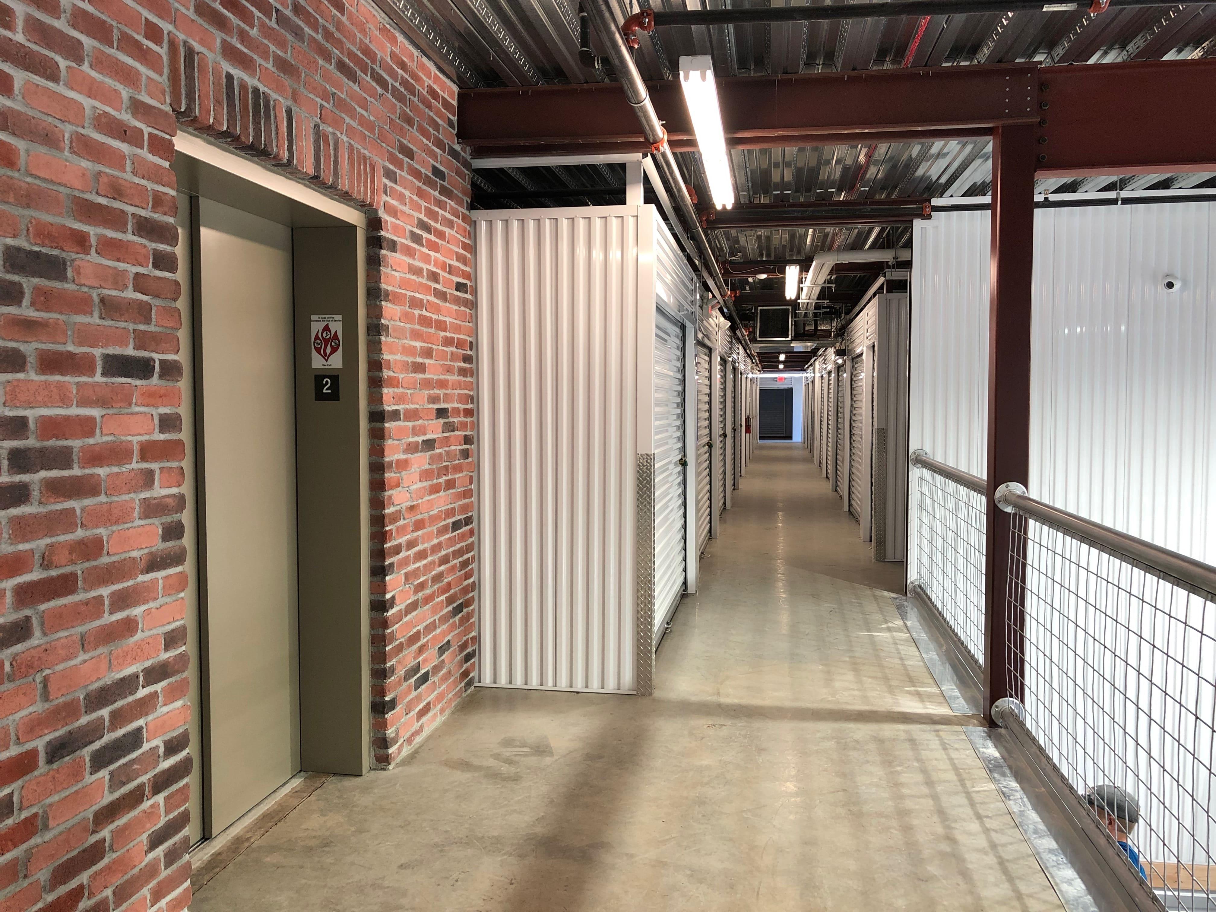 Elevator Access to Upper Level Storage