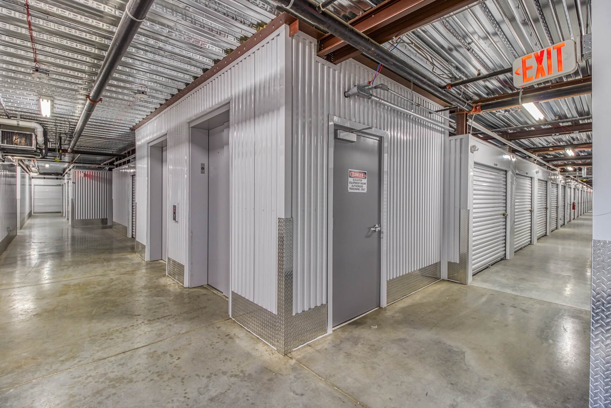 Elevator Access to Storage Units in Blue Springs MO