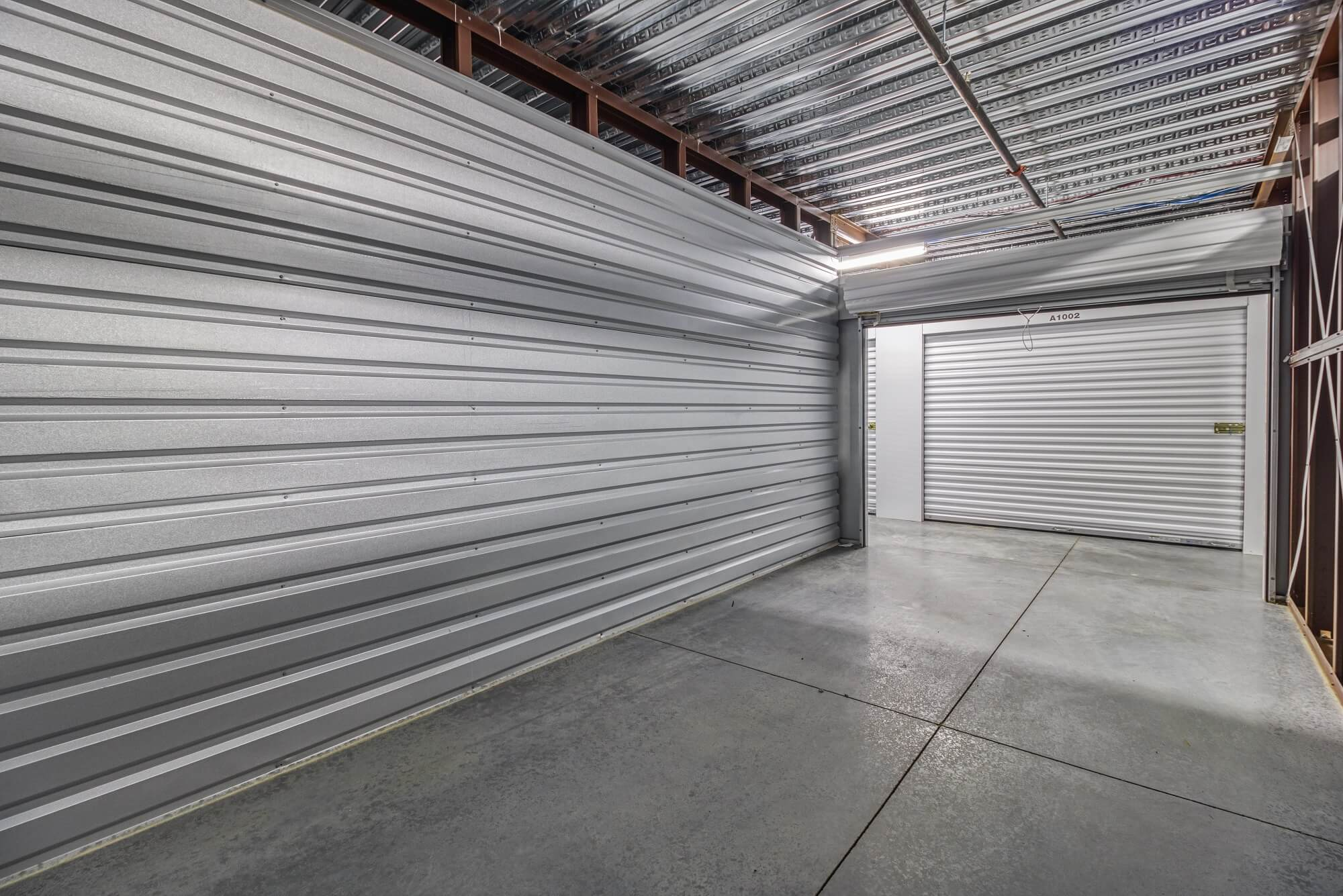 Inside Interior Storage Unit in Blue Springs MO