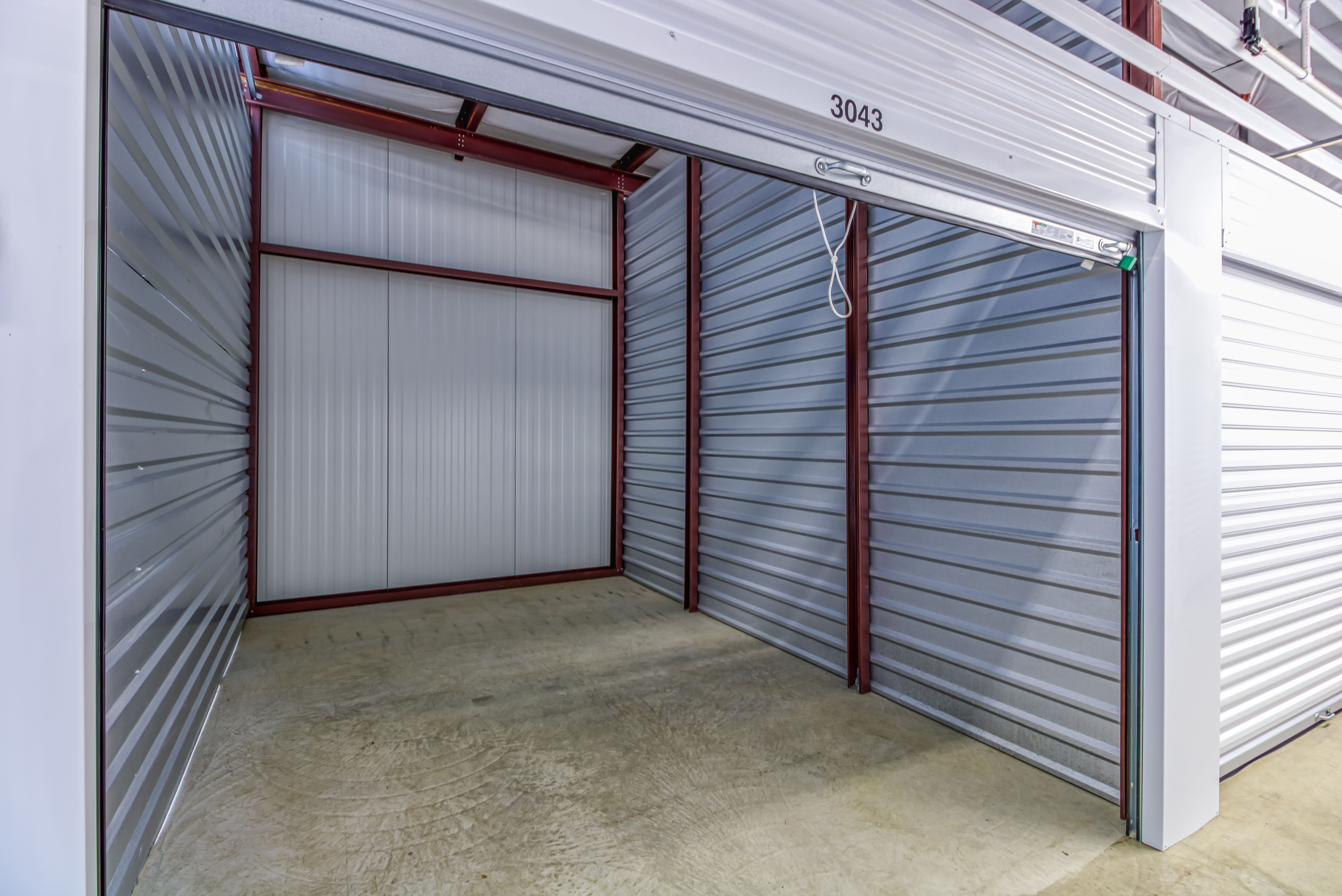 Large Interior Storage Units in Shawnee KS