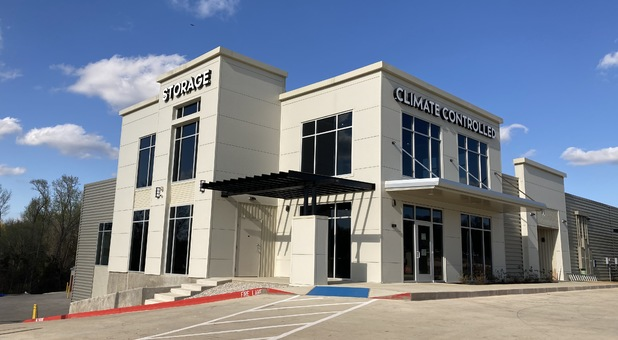 Self storage facility in Lindale, TX