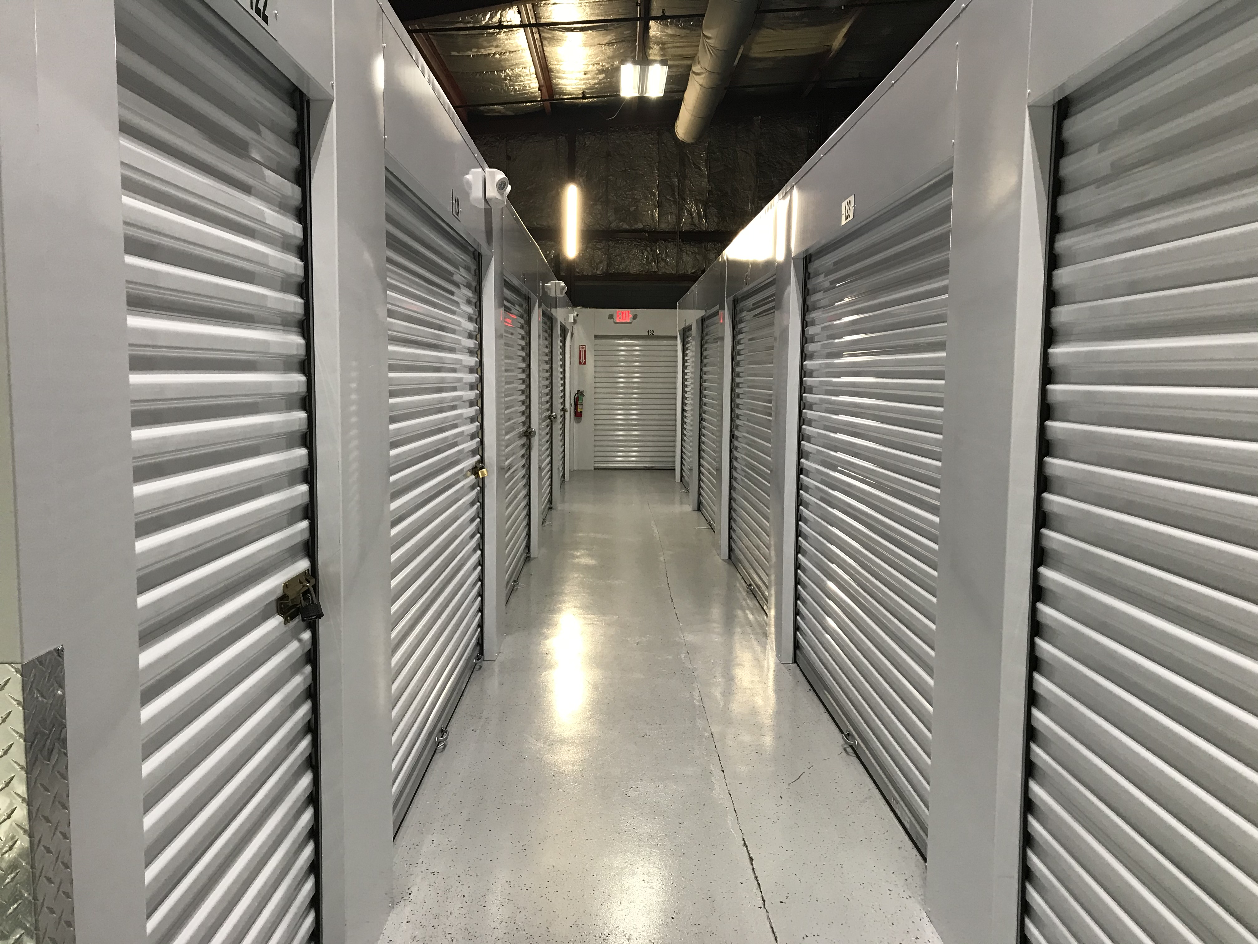 interior climate controlled units!