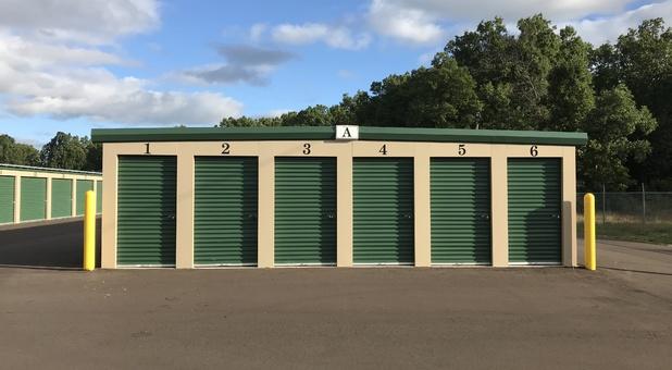 Self storage units in Matawan, MI