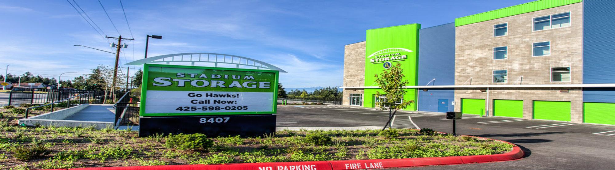 Stadium Storage facility in Everett, WA