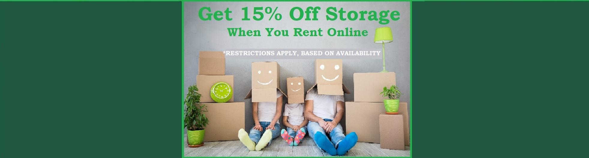 Storage Discount Deal