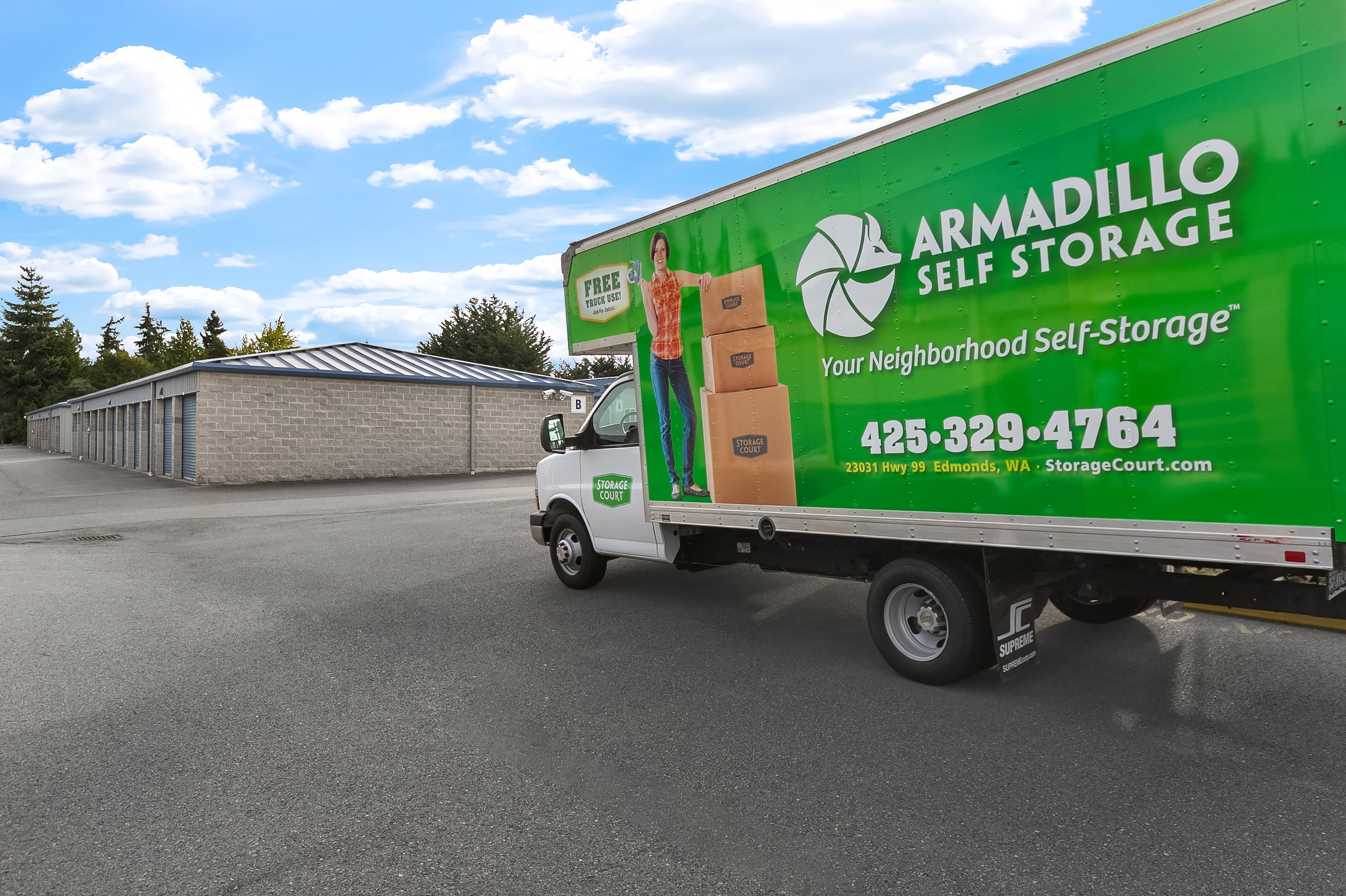 Armadillo Moving Truck