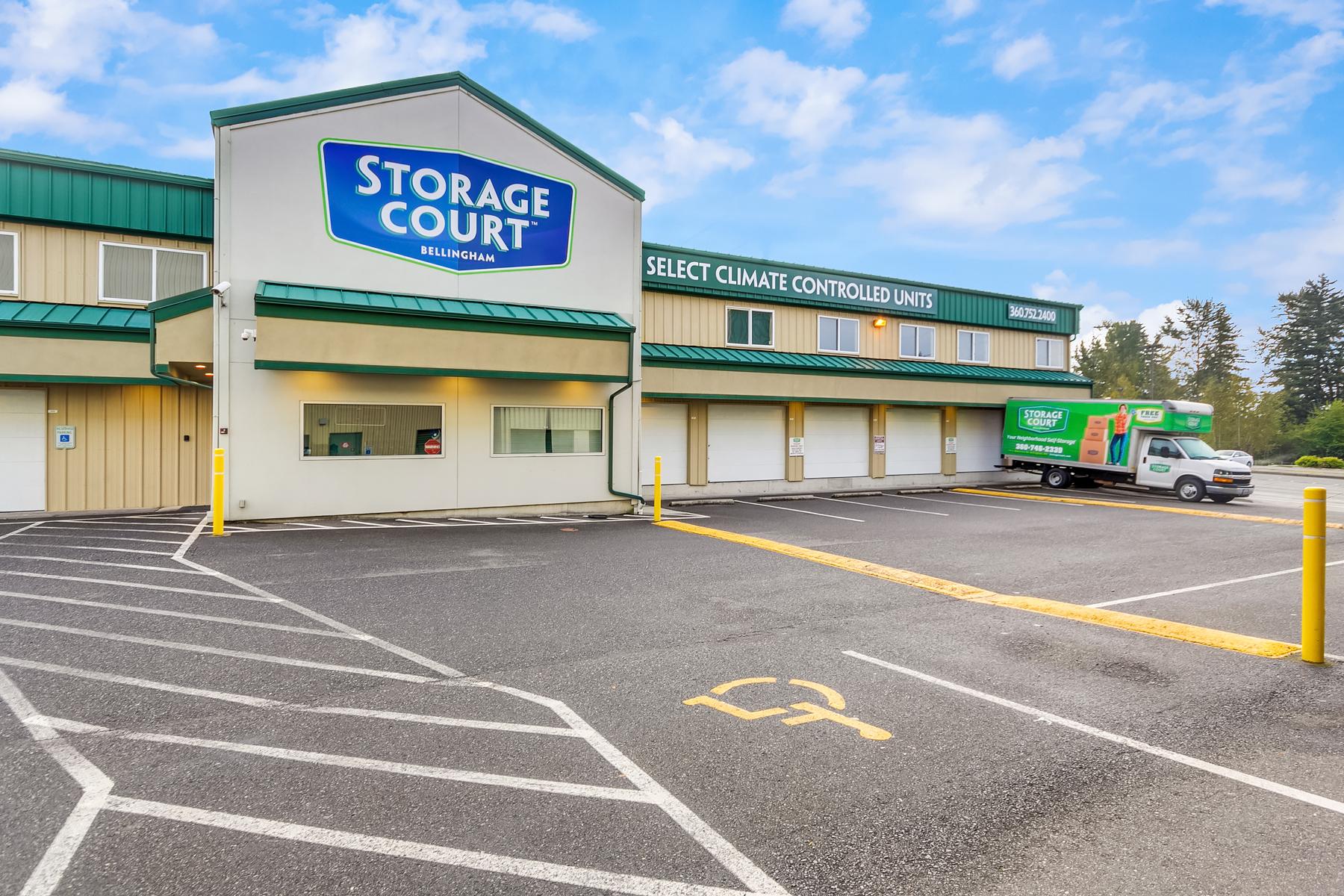 Exterior Self Storage in Bellingham, WA