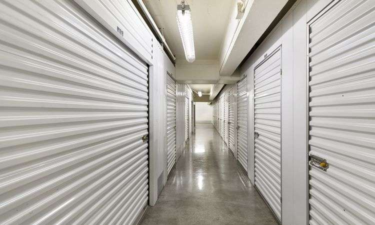 Interior Storage Units at Belltown Self Storage