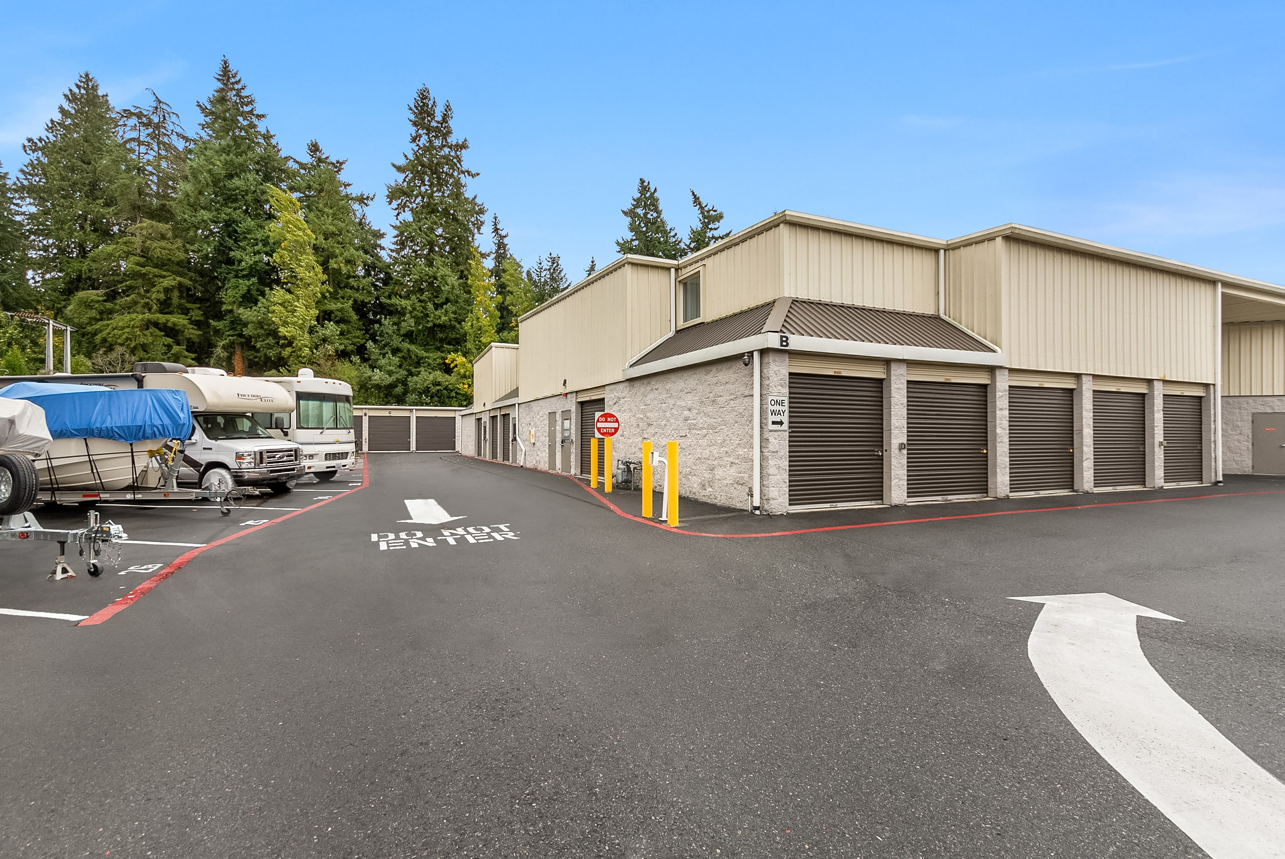 Exterior Self Storage Mercer Island, WA