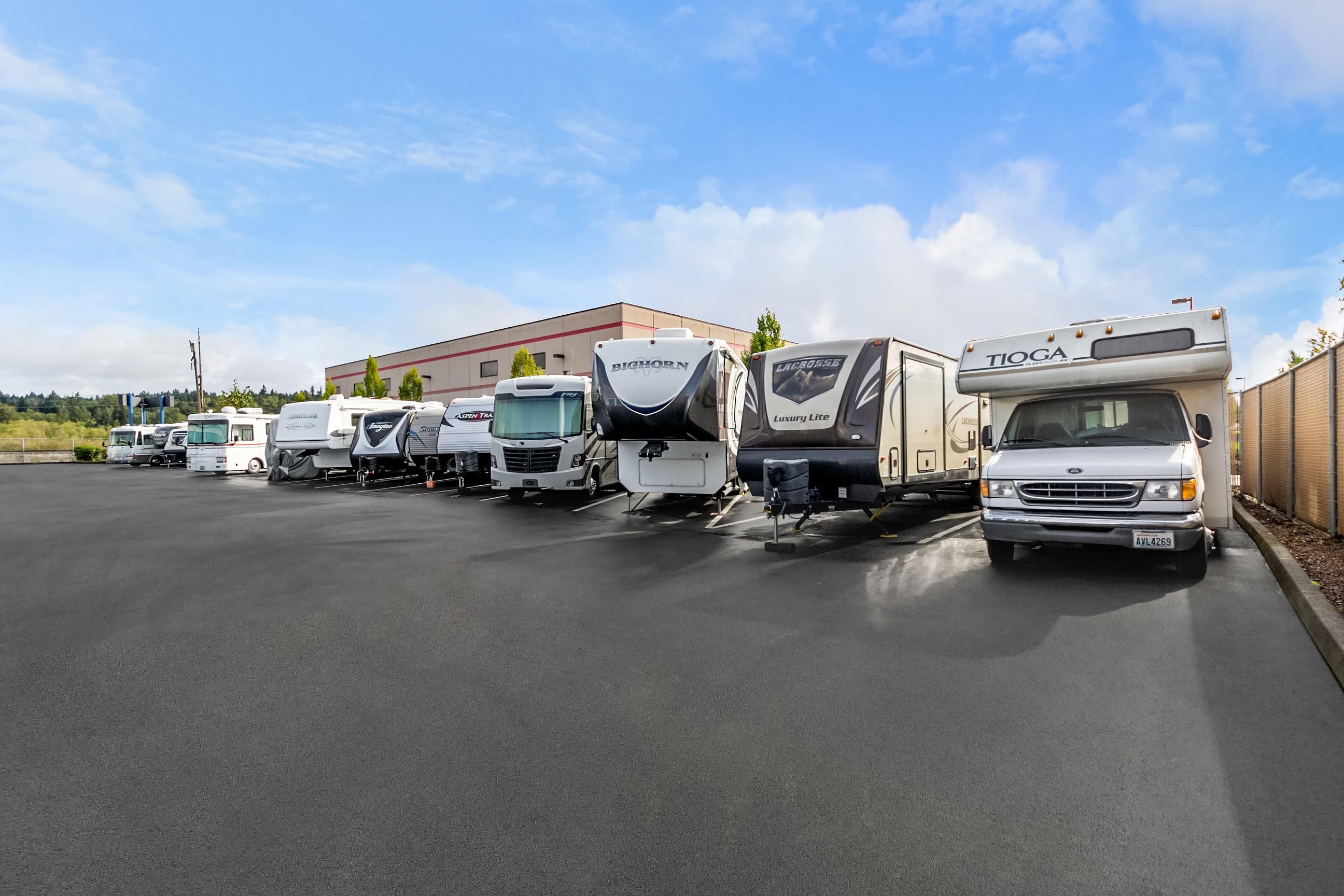RV Storage in Monroe, WA