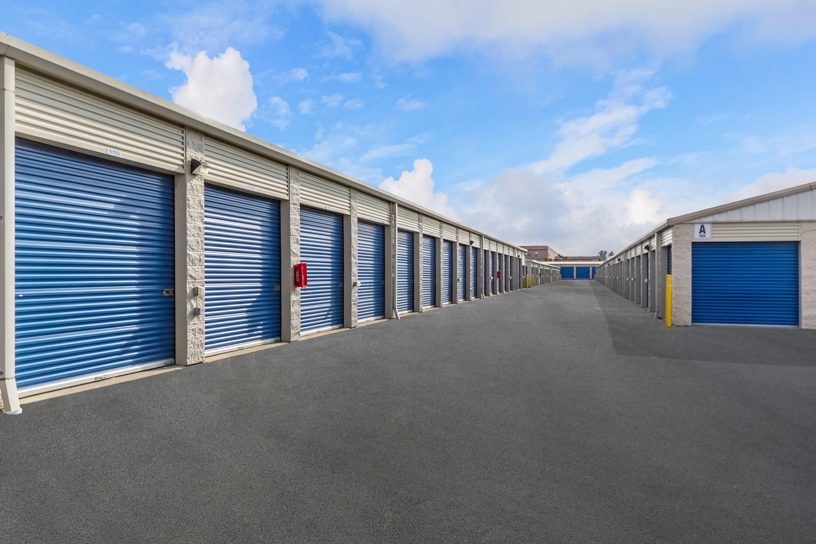 Exterior Self Storage Units Monroe, WA